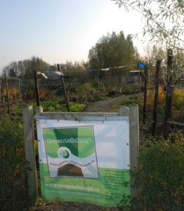 ingang groenteschuyt